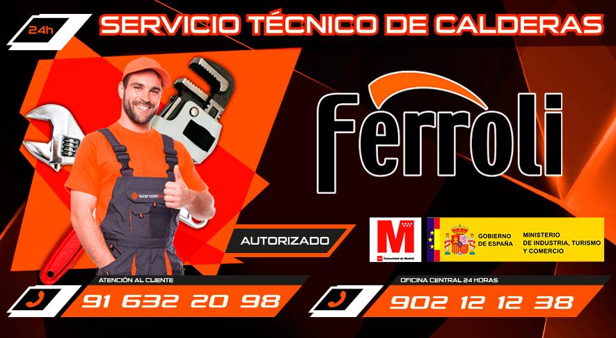 Servicio t cnico calderas ferroli en algete t 91 632 20 98 for Tecnico calderas