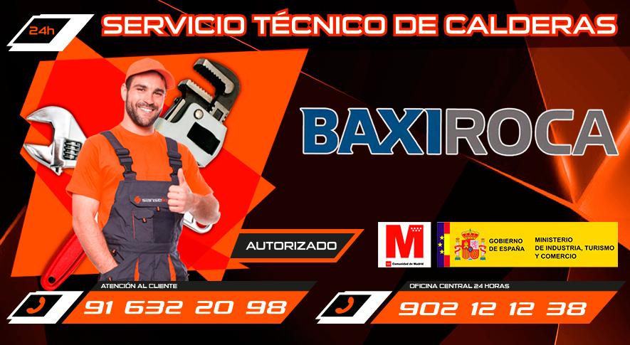 Servicio Tecnico BaxiRoca San Sebastian de los Reyes