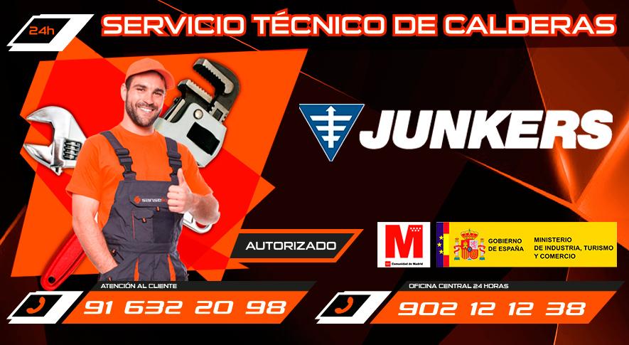 Servicio Tecnico Junkers San Sebastian de los Reyes
