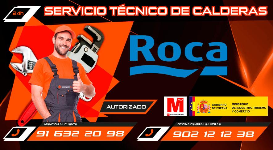 Servicio Técnico Calderas Roca en San Sebastián de los Reyes