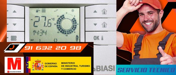 Nuevos termostatos modulantes Biasi de Tradesa