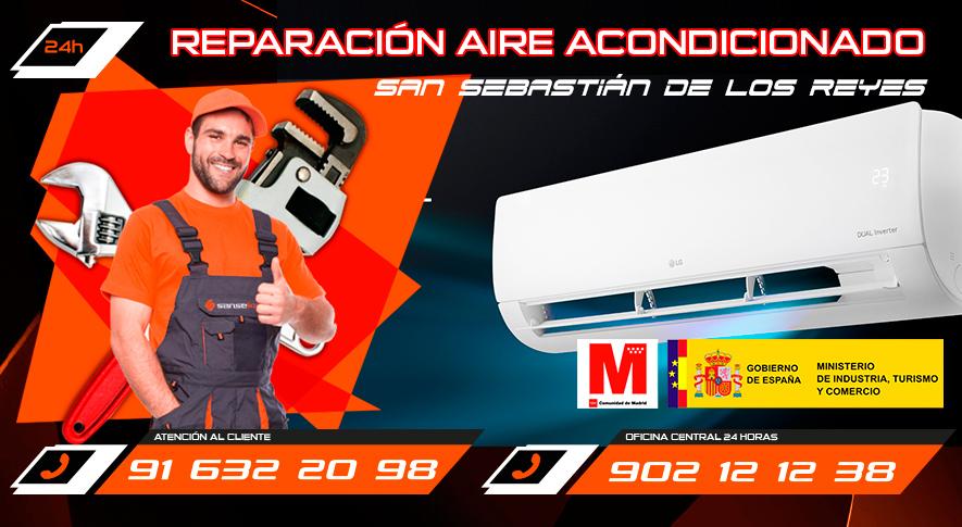 Reparación aire acondicionado en SanSebastián de los Reyes