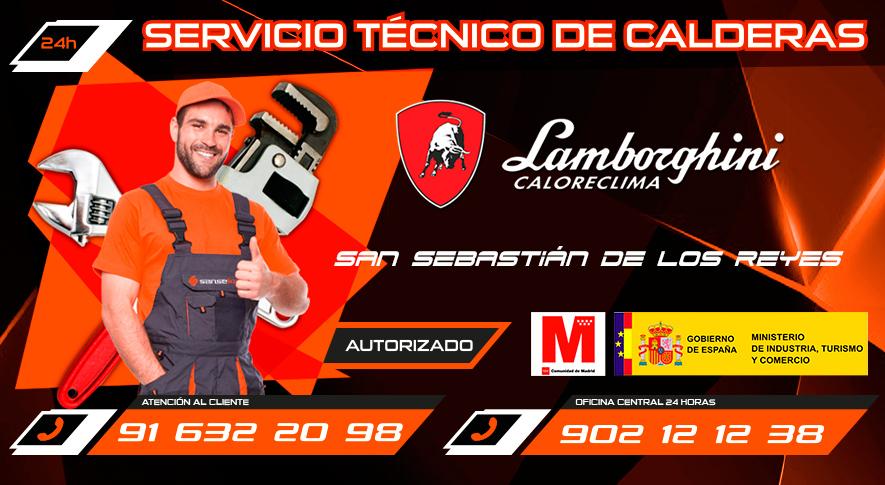 Servicio Técnico Calderas Lamborghini en San Sebastián de los Reyes