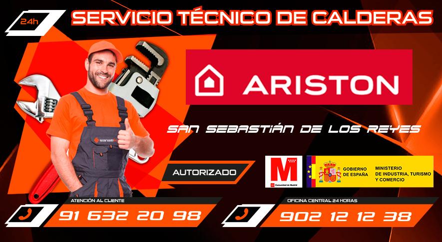 Servicio Técnico calderas Ariston en San Sebastián de los Reyes