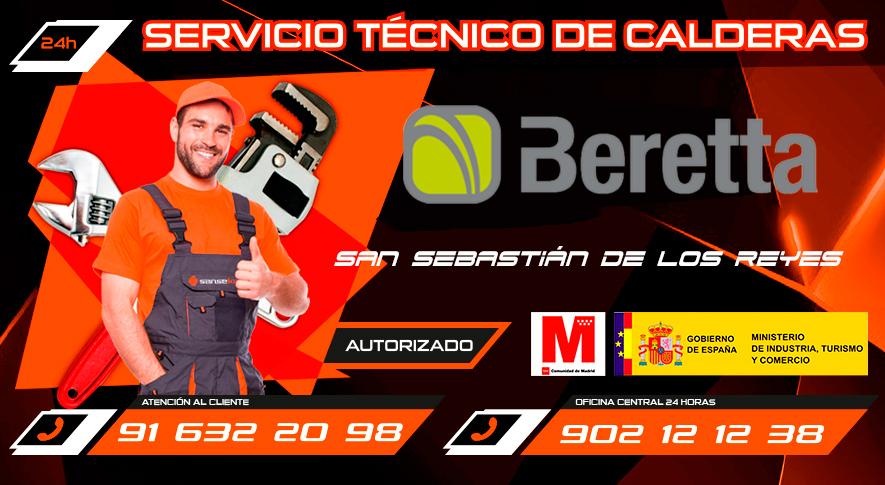 Servicio técnico calderas Beretta en San Sebastián de los Reyes
